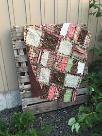 unique baby quilt for crib bedding