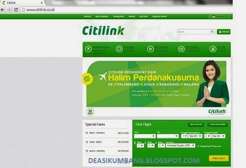 Cara Booking Tiket Pesawat Citilink Melalui Internet Dengan Mudah dan Murah
