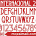 🔥🔥🔥FFF Internacional 2020-21 Football Font Free Download by M Qasim Ali