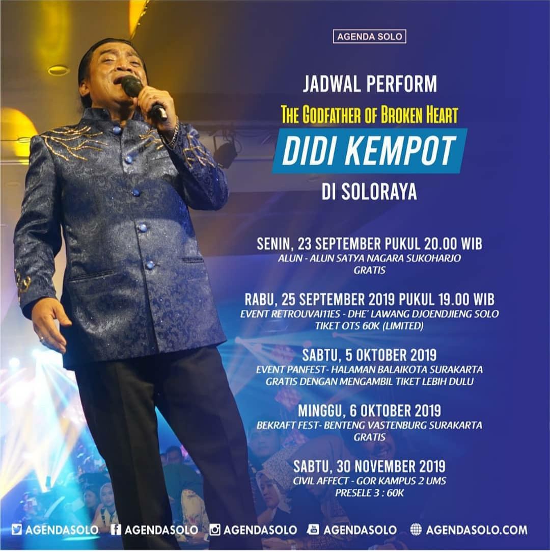 Jadwal Konser Ambyar Didi Kempot Terbaru Di Soloraya Promotion