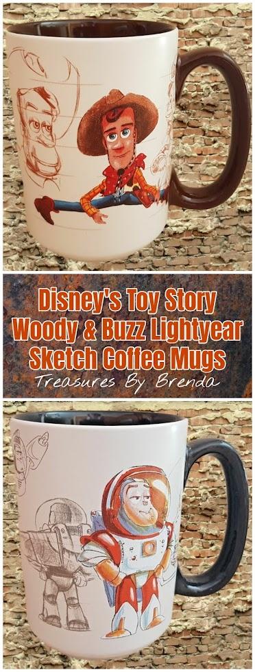 Toy Story 20th Anniversary Coffee Mugs
