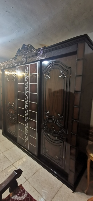 غرفة نوم مستعملة 3 ضلفة جرار فيرنتشر ستورز المطرية 7