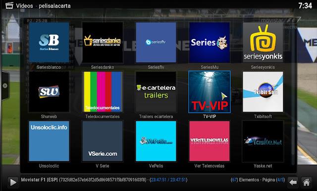 Nuevo Complemento TV-VIP