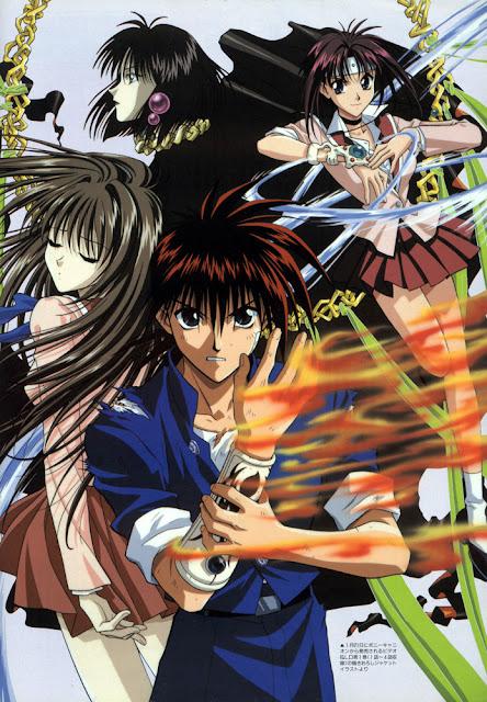 Flame of Recca anime popular