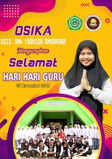Desain Selamat Hari Guru OSIS SMK Yasmida Ambarawa