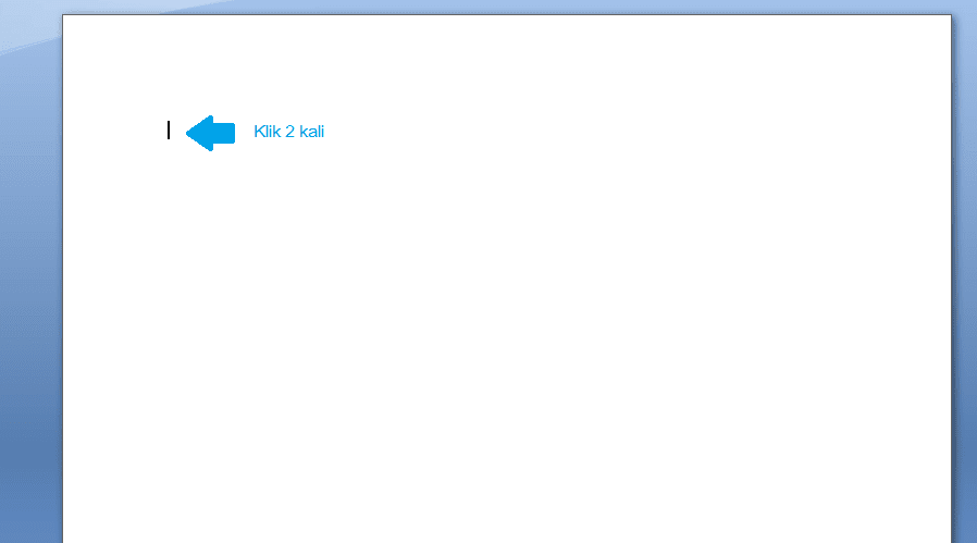 Memunculkan Fungsi Header di Word