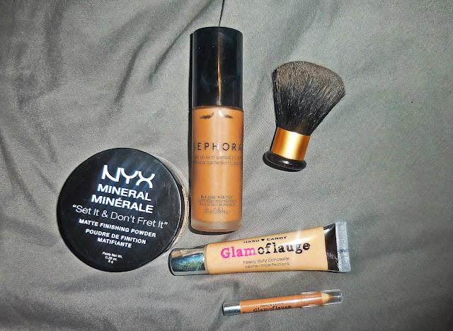 makeup review sephora nyx hard candy