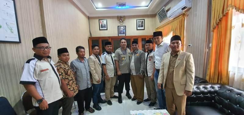 Kapolres Madina Sampaikan Pesan Kamtibmas, saat Audiensi Dengan Pemuda Muhammadiyah