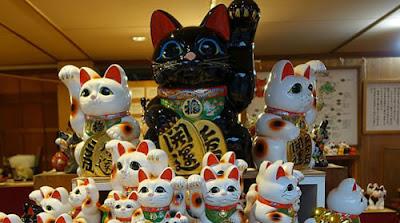 Maneki Neko Festival em Ise tem mais de 30 mil peças da sorte