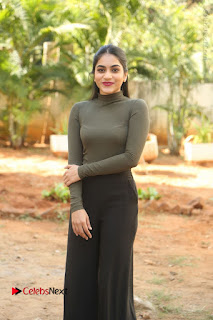 Tollywood Actress Punarnavi Bhupalam Latest Po Gallery in Black Trouser Pant at Pittagoda Movie Interview  0065.JPG