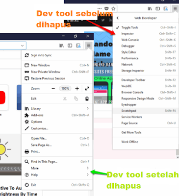 Cara menonaktifkan developer tools di Firefox via Group Policy Windows