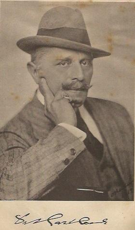 El ajedrecista Dr. Carl Harlaub