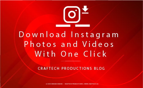 Download Instagram Photos and Videos With One Click