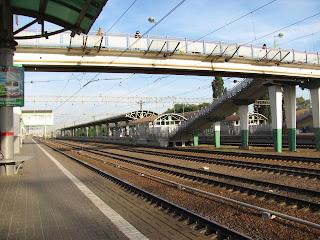 train station ramenskoye moscow russia