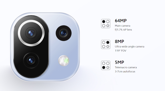 Kamera Xiaomi Mi 11 Lite 5G NE