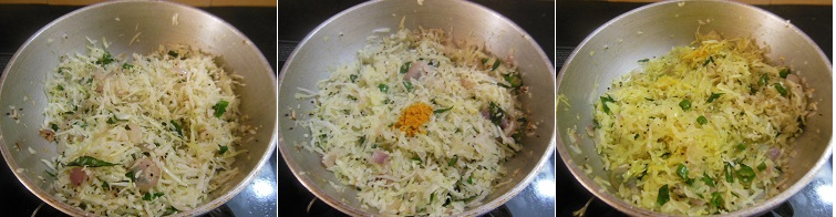 How to make Cabbage Egg Stir Fry - Step 3