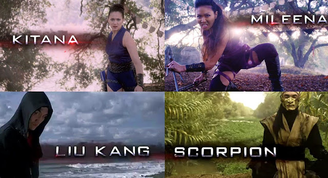 Mortal Kombat: Legacy II - Caractere