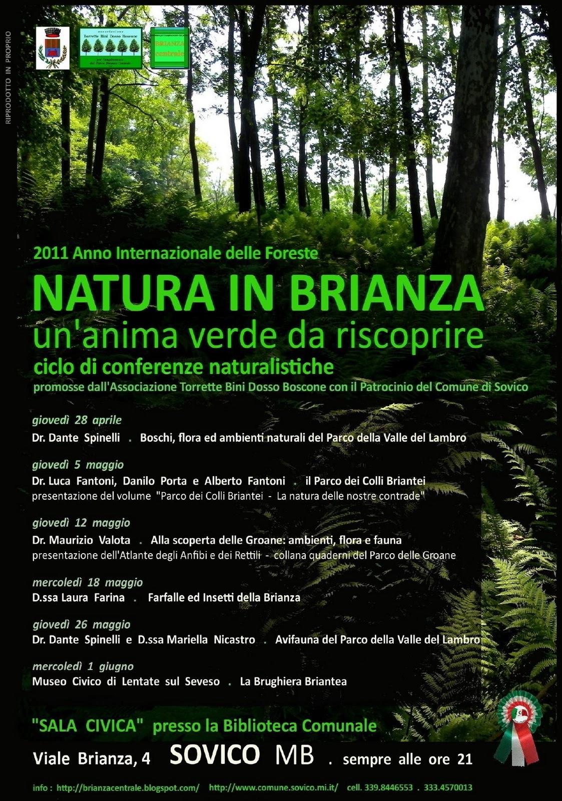 Brianza centrale natura in brianza un 39 anima verde da for B b misinto