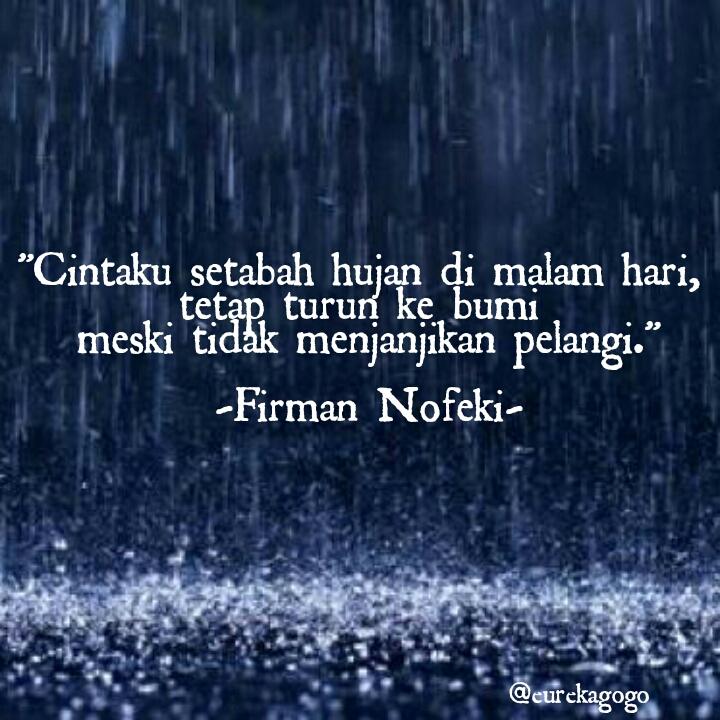 eureka quote tentang hujan