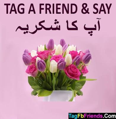 Thank you in  Urdu language