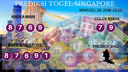 Prediksi Togel Angka Jadi Singapura Minggu 28 Juni 2020