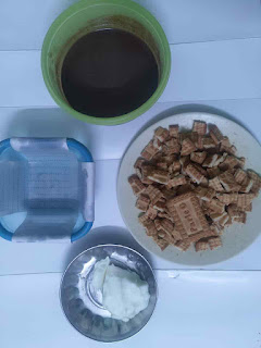 No-Bake Biscuit Cake Recipe | Crunchy Biscuit Cake