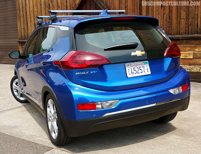 2017 Chevrolet Bolt LT rear - Subcompact Culture