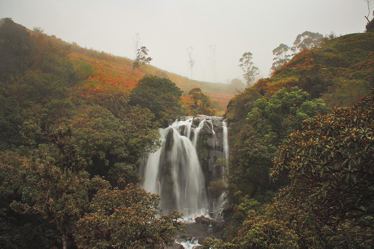 Fotografi Landscape  pendakian Lembban Via Air Terjun Lembanna