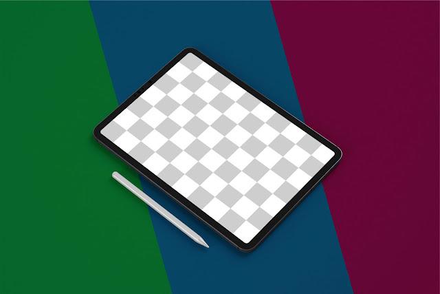iPad Pro Mockup Set Tablet Screen 5241075