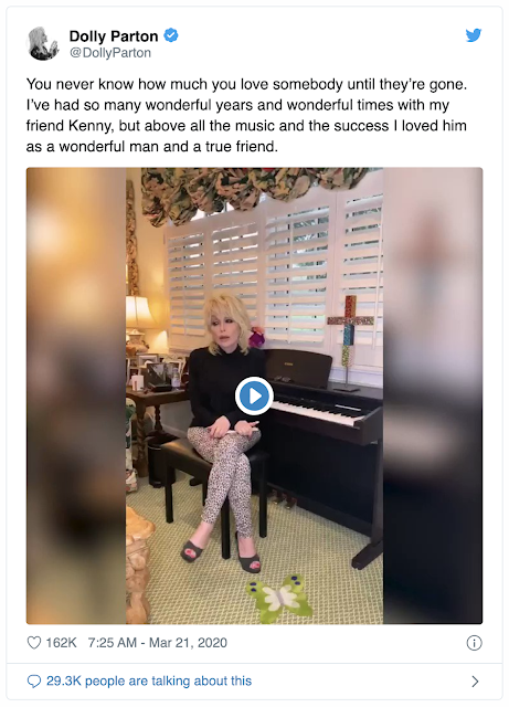 Kenny Rogers, dead at 81, March 21, 2020 news +March 20 ...