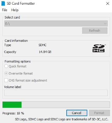 Format Kartu Memori Dengan Software Standar (Original) SD Memory Card Formatter-2