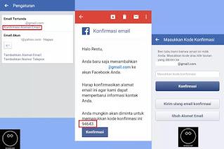 Cara Menggati Email Facebook Melalui Aplikasi Facebook #3