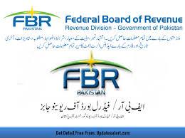 New Jovt Jobs  Federal Board of Revenue (FBR) jobs : 2021 Via www.fbr.gov.pk