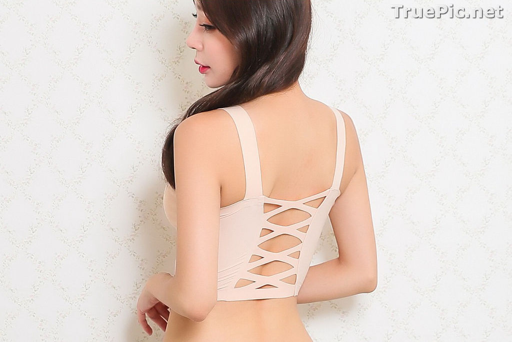 Image Hyun Kyung - Korean Fashion Model - Nude Color Undies - TruePic.net - Picture-8