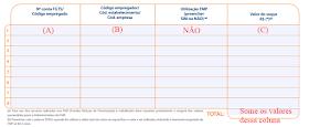 correspondencia campos formulario