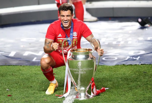 Philippe Coutinho titles in career list 2021