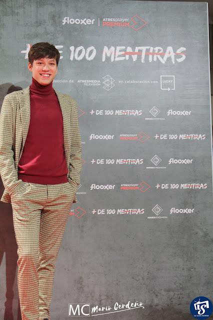 Javier Ruesga en 'Más de 100 Mentiras' segunda temporada