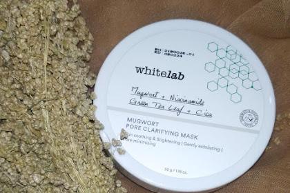 Review Whitelab Mugwort Pore Clarifying Mask [ Produk Terbaru Whitelab yang Viral di Tiktok ]