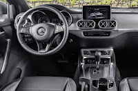 Mercedes-Benz X-Class Power (2018) Dashboard