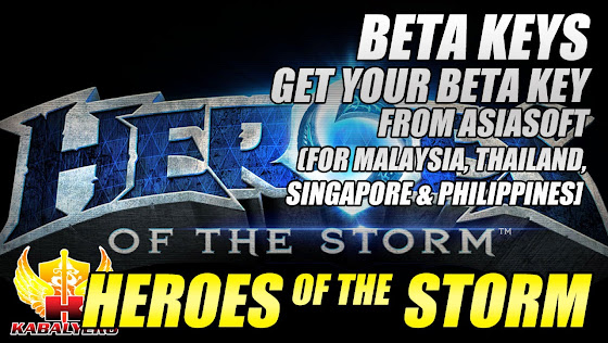 Heroes Of The Storm Beta Key, Get Your Beta Key From Asiasoft