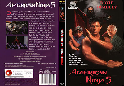 Filme Guerreiro Americano 5 - O Pequeno Ninja (American Ninja 5) DVD Capa