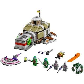 Teenage Mutant Ninja Turtles LEGO Set