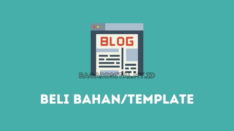 Kesalahan Umum Blogger Pemula