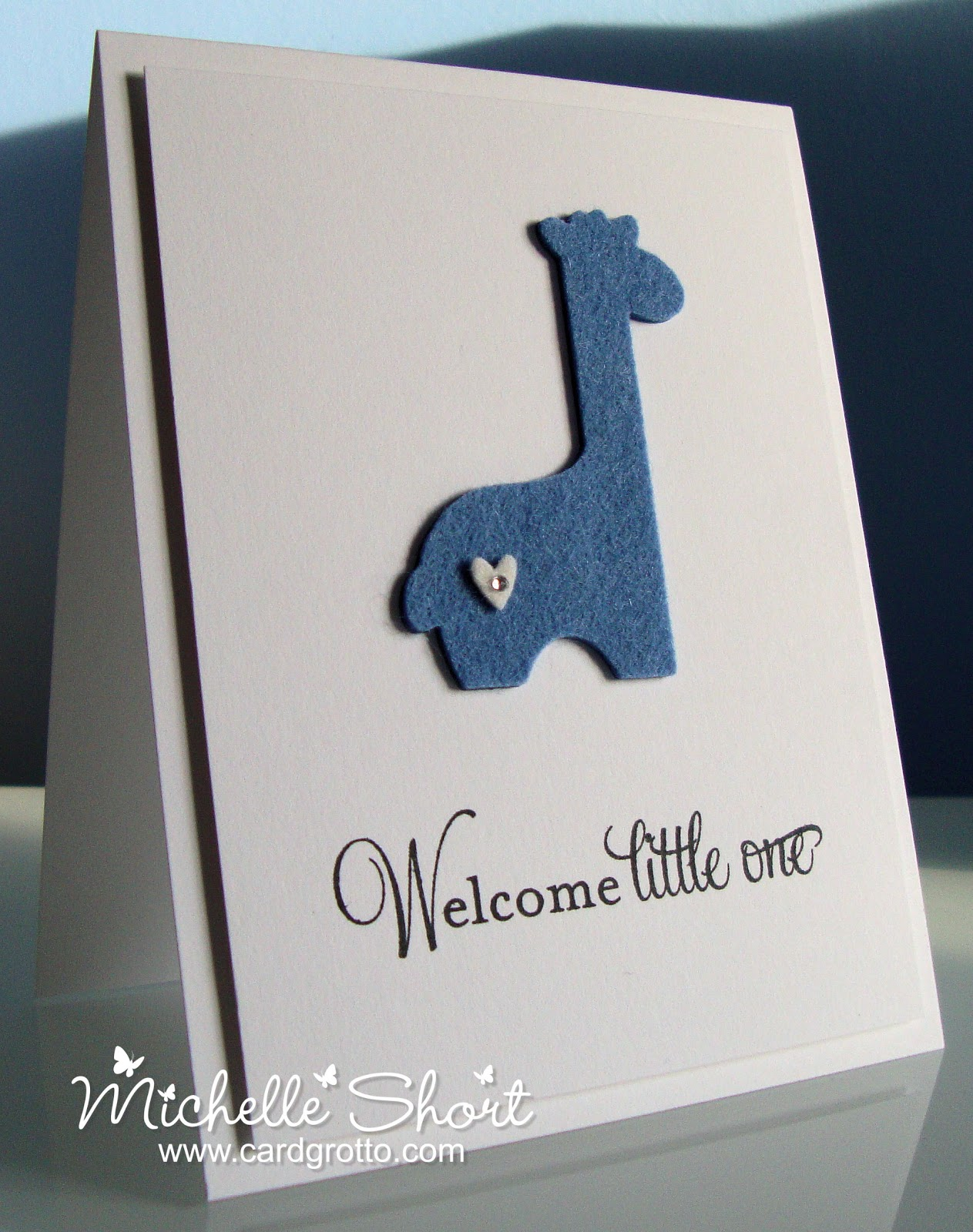 The Card Grotto Welcome Little One