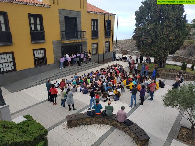 Tijarafe se sumó a los actos conmemorativos del Día Internacional Contra la Violencia de Género