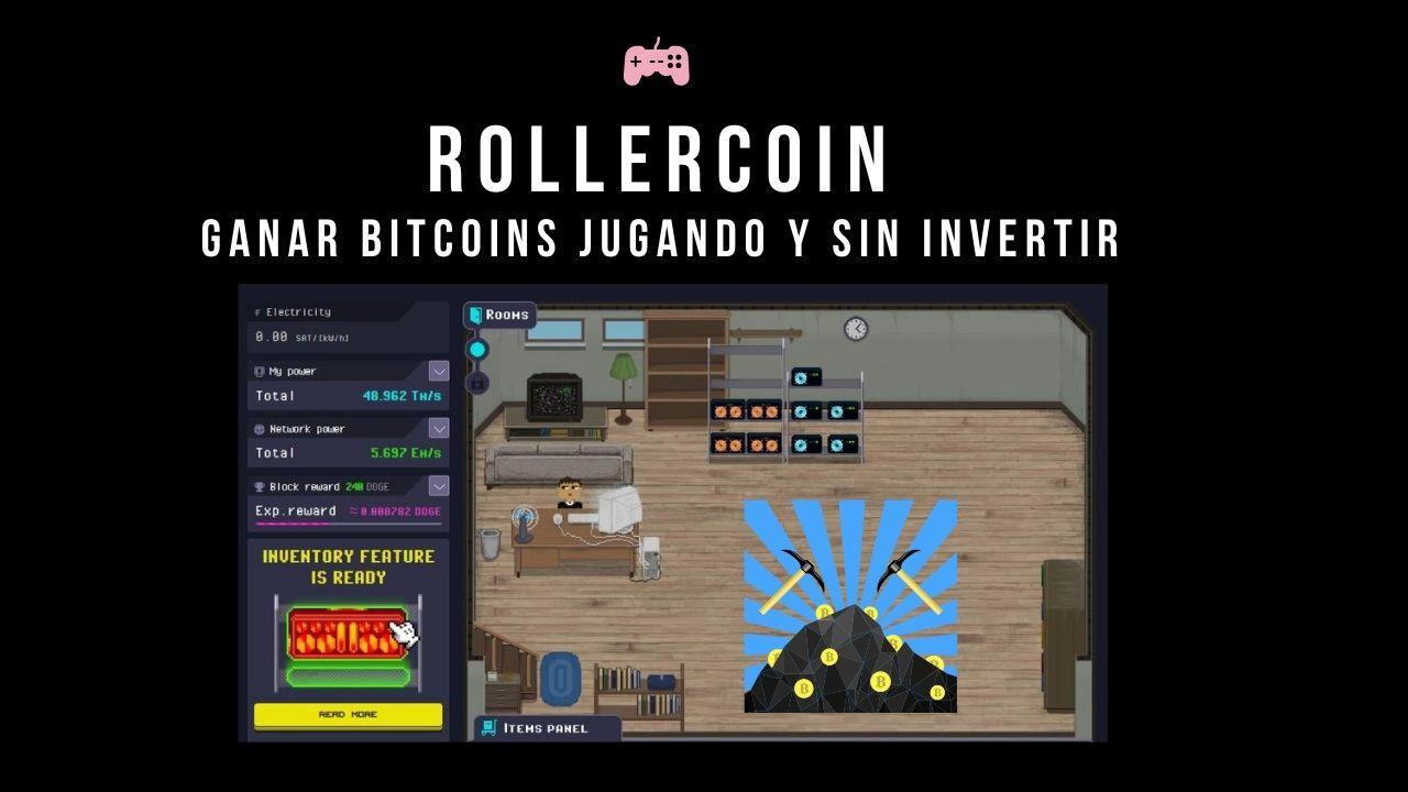 Rollercoin paga