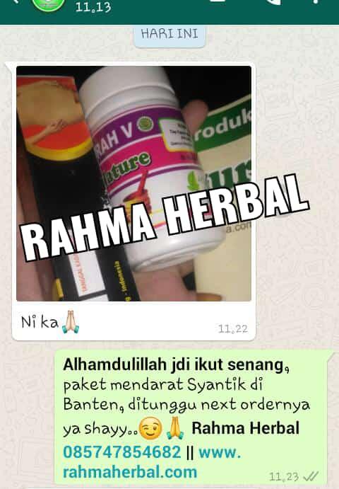 Komentar Pelanggan Paket Rahma Herbal sampai Banten