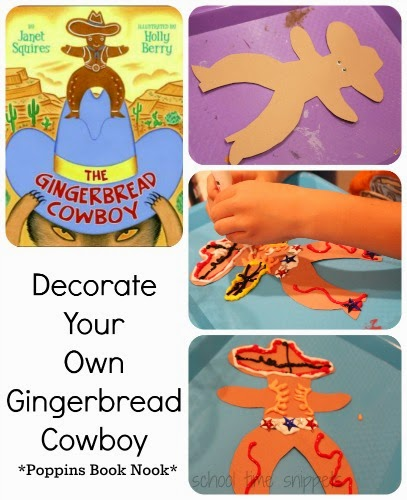 gingerbread cowboy art activity