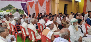 क्षेत्रीय विधायक की उपस्थिति में नवेगांव गोड में मिलन समारोह