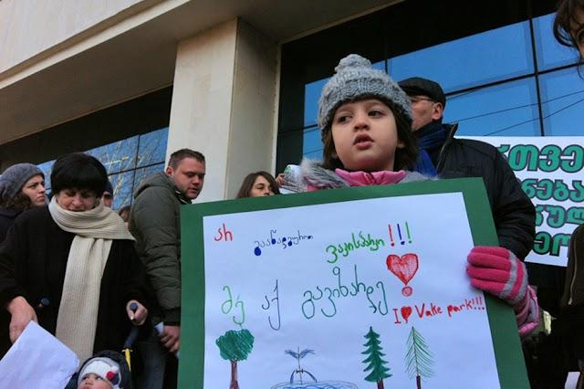 Аппеляционный суд Тбилиси дал право строительным компаниям продолжить строительство в парке Ваке
